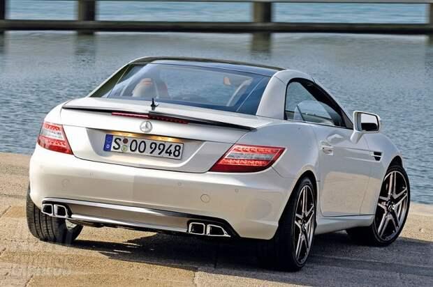 Немецкий подержанный спорткар Mercedes SLK/ Фото: slkworld.com