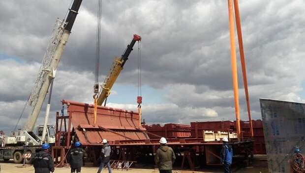 Завод по переработке отходов начал монтаж оборудования, выпущенного «ЗиО‑Подольск»