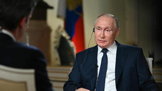 Путин заявил, что политическая система в России развивается