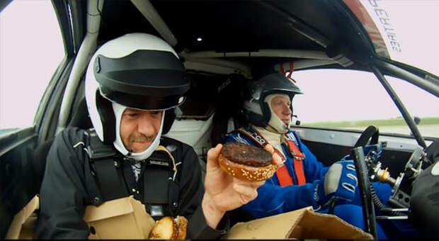 Собрать бургер - это легко. А в машине? А в раллийной? А на треке?
