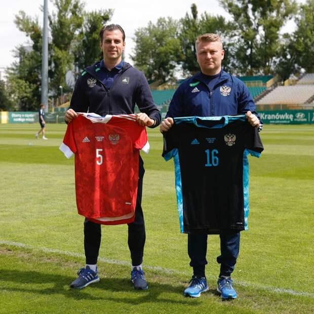 Сборная России определилась с формой на матч против Болгарии