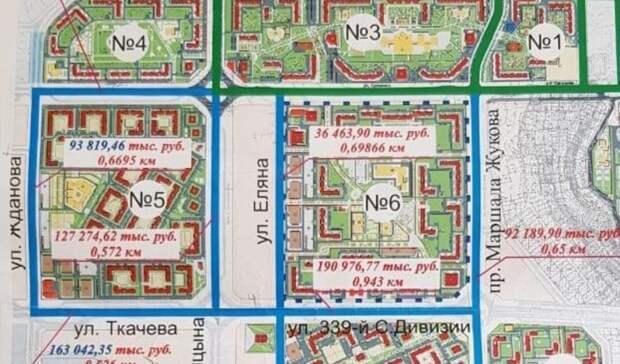 ВРостове-на-Дону утвердили планы застройки микрорайона Левенцовский до2026 года