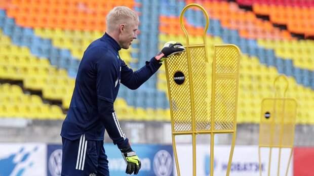 Жесть: Дюпин сломал ударом манекен на тренировке сборной России. Нападающим лучше держаться подальше…