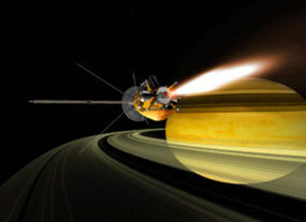 Из чего сделаны кольца Сатурна?