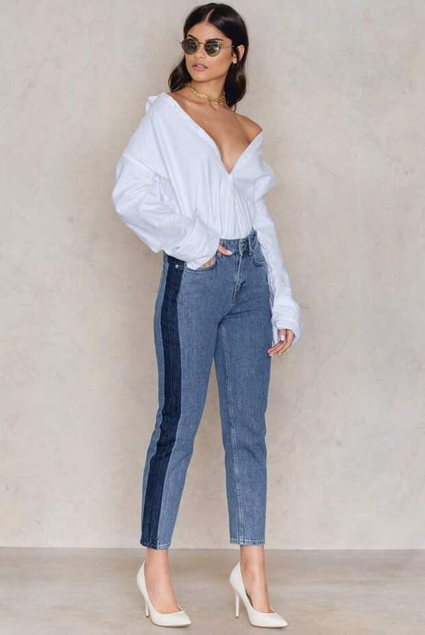 20 гениальных идей, как стильно расширить джинсы, которые стали малы