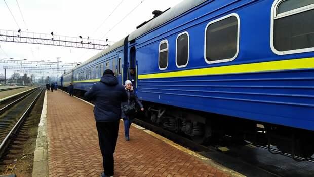 Поезда на Украине могут встать через четыре дня из-за нехватки топлива