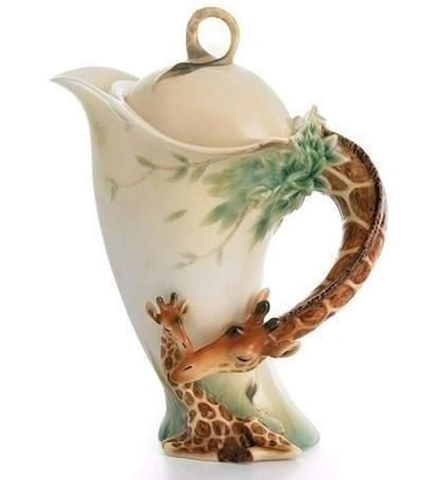 Потрясающие чайнички от Franz Porcelain