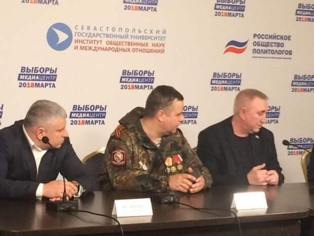 Представители самообороны о выборах в Севастополе