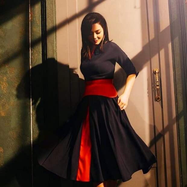 Марина Кравец - самая смешная женщина российского телевидения в черном платье