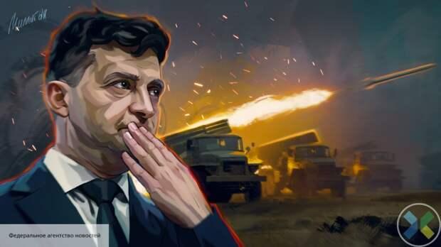 Запад провоцирует Украину на войну с Россией