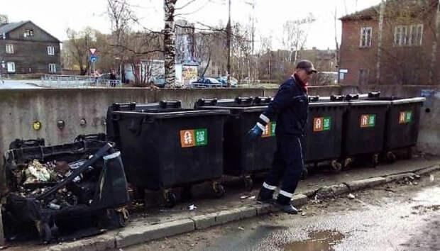 Серия поджогов мусорных контейнеров произошла в Петрозаводске
