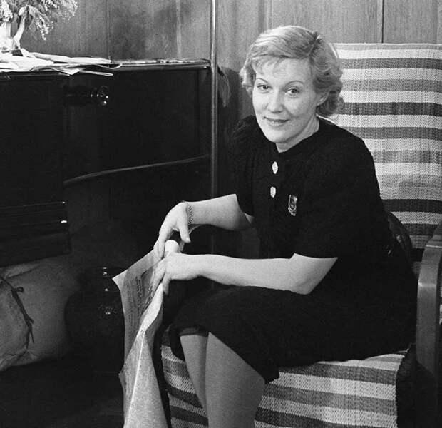 Любовь Орлова, 1950