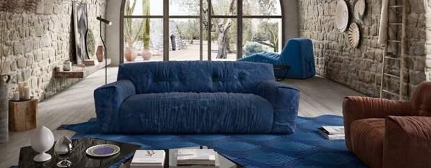 Новая система сидений Natuzzi, разработанная Паолой Навоне