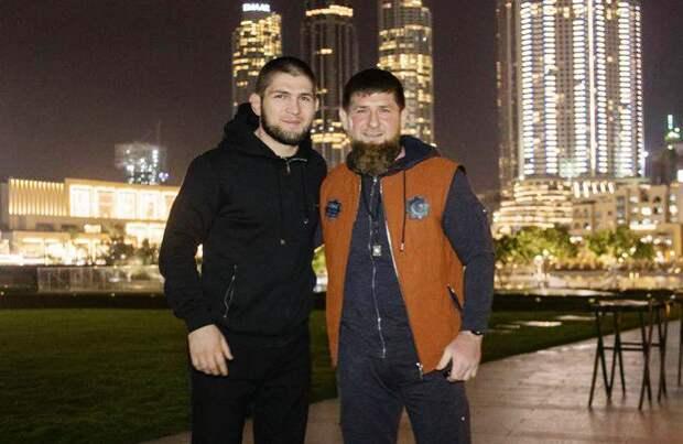 Кадыров готов заплатить любые деньги, чтобы увидеть бой Хабиба с бойцом из «Ахмата»