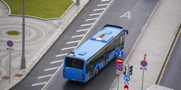 Собянин рассказал о том, как развивается наземный транспорт в Москве