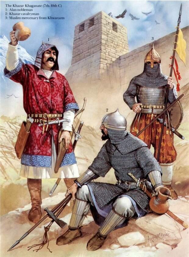 О Хазарском каганате в византийских источниках