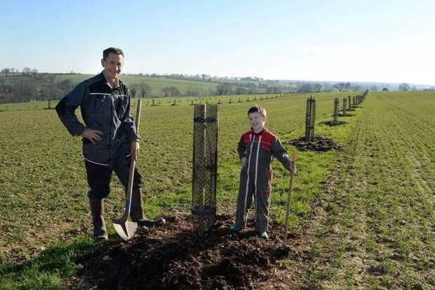 Этот фермер сажает деревья, потому что ″подпортил планету″