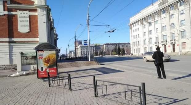 Парковки и движение автомобилей ограничили в центре Новосибирска 7 мая
