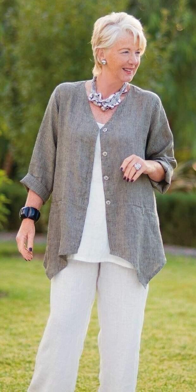Легкие летние кардиганы для женщин 45+. Как и с чем носить