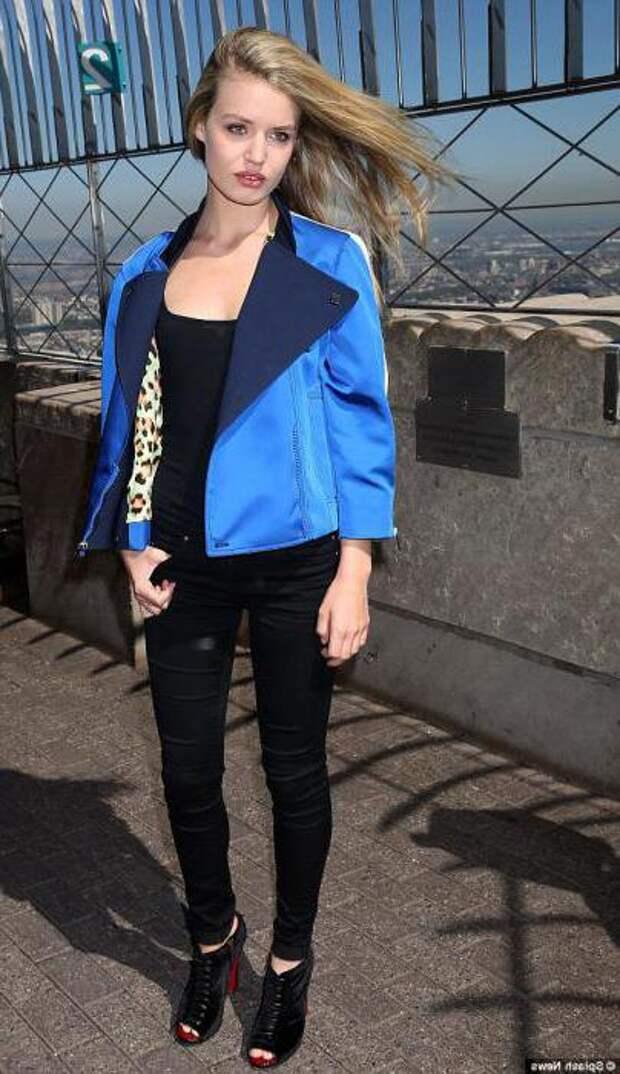 синий пиджак женский с чем носить