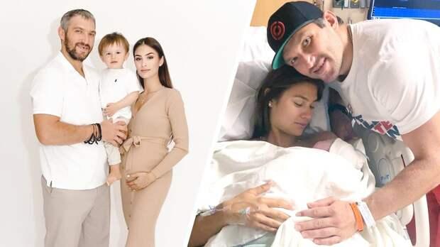 УОвечкина родился второйсын. Ребенка назвали Ильей: фото