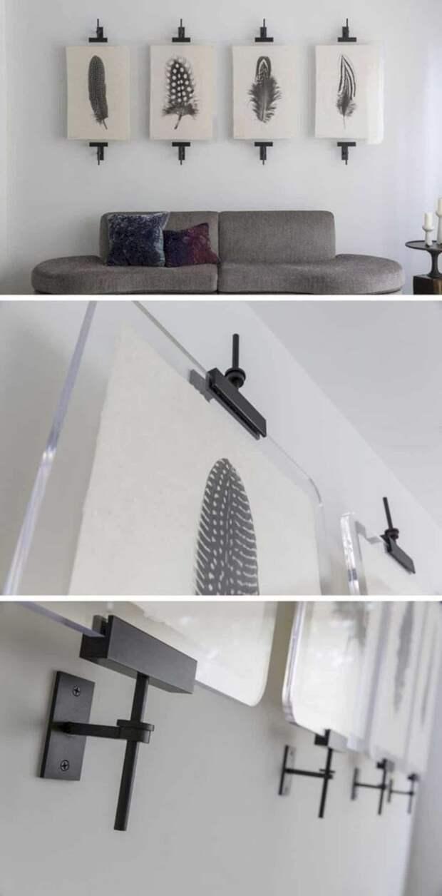 Отличные идеи для оформления пустых и скучных стен