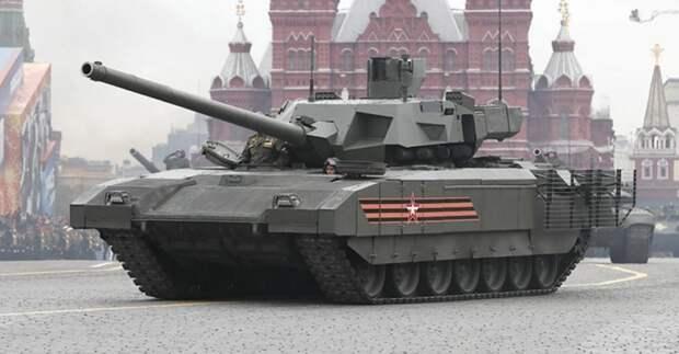 National Interest дал высокую оценку беспилотной версии российского танка T-14 «Армата»