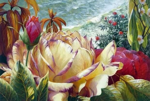 Художник Elizabeth Horning. В мире цветов