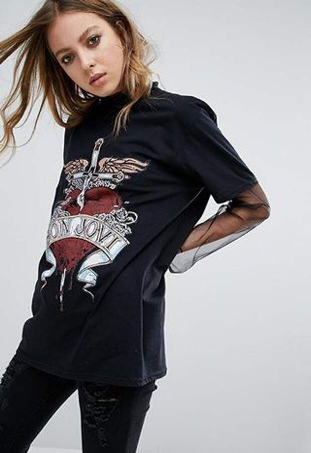 Смелые переделки футболок