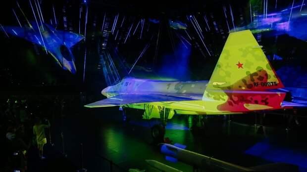 Презентация «шахматного» истребителя на МАКС-2021 впечатлила посетителей