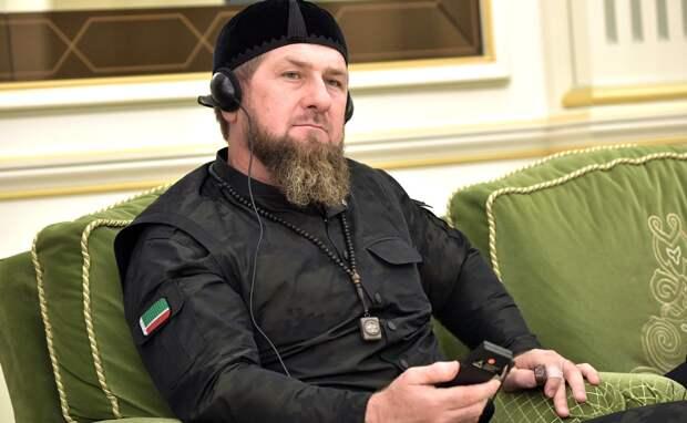 Кадыров назвал себя «проектом» Путина