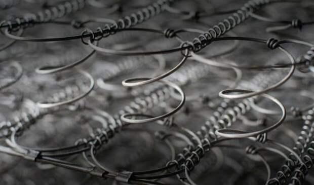 В таких матрасах ставят пружины типа «песочные часы»