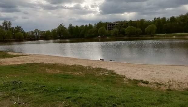 Прибрежную зону Лаговского пруда благоустроят в Подольске