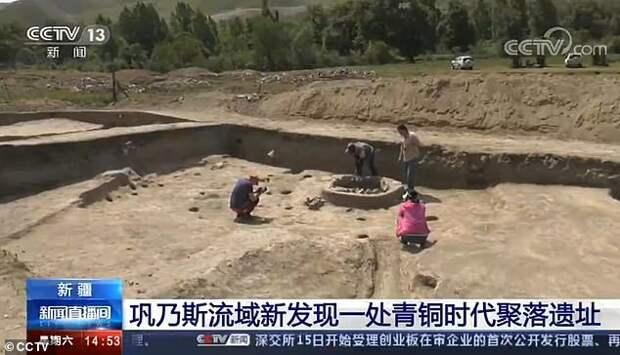 Обнаруженное в Китае поселение бронзового века раскрывает историю Шелкового пути