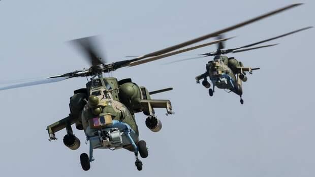 Мантуров рассказал об интересе других стран к вертолёту Ми-28НМ