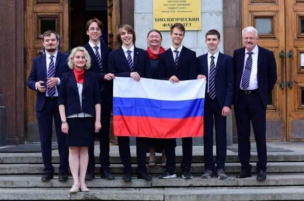 Российские школьники стали обладателями четырёх медалей наМеждународной биологической олимпиаде