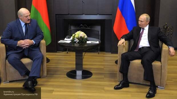Путин одной фразой о море в адрес Лукашенко разрушил планы Запада на Белоруссию