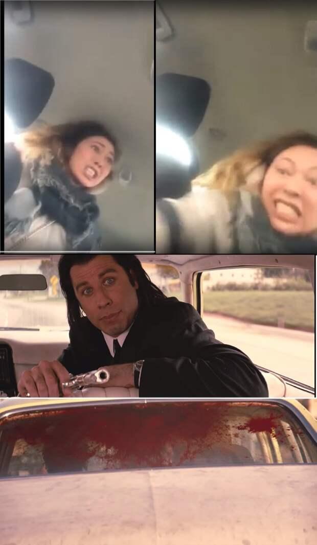 Наклейки «Вези меня, мразь» стали хитом у московских таксистов