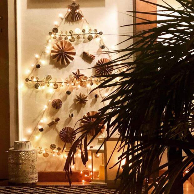 Необычные и прикольные новогодние ёлки