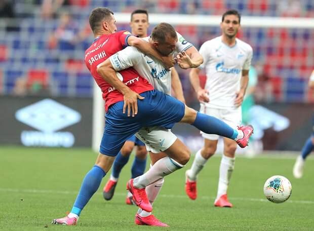 В матче с ЦСКА «Зенит» ответил на критику по поводу невыразительной игры и отсутствия результата. Класс зенитовцев, особенно легионеров, выше