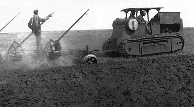Химический танк Д-15: неудачная платформа