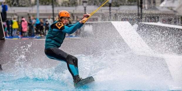 Депутат Мосгордумы Мария Киселева назвала вейкбординг перспективным видом экстремального спорта