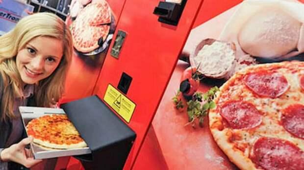 Автомат по продаже свежей пиццы вызвал ужас у итальянцев