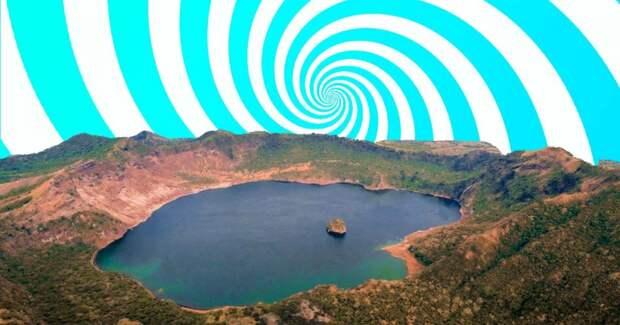 На Филиппинах есть остров в озере на острове посередине другого озера на острове