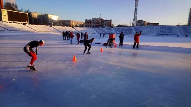 Школа конькобежного спорта в Ижевске объявила новый набор ребят