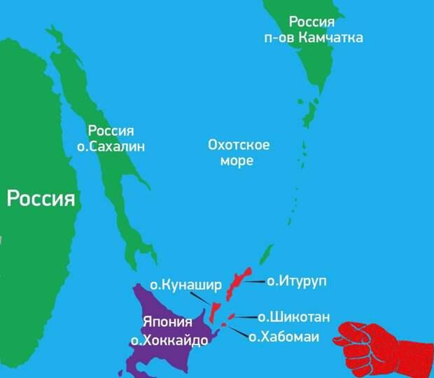 Курильские острова. Источник изображения: https://vk.com/denis_siniy