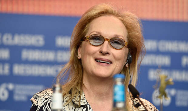 BERLIN, GERMANY - FEBRUARY 11: Meryl Streep attends the International Jury press conference during the 66th Berlinale International Film Festival Berlin at Grand Hyatt Hotel on February 11, 2016 in Berlin, Germany. (Photo by Pascal Le Segretain/Getty Images)
