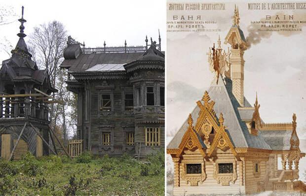 Экскурс в загородную жизнь России: Как выглядели дачи больше века назад.