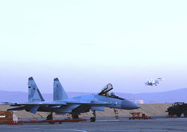 Экипажи истребителей Су-30 СМ ВВО в Забайкалье выполнили  полеты в сложных метеоусловиях