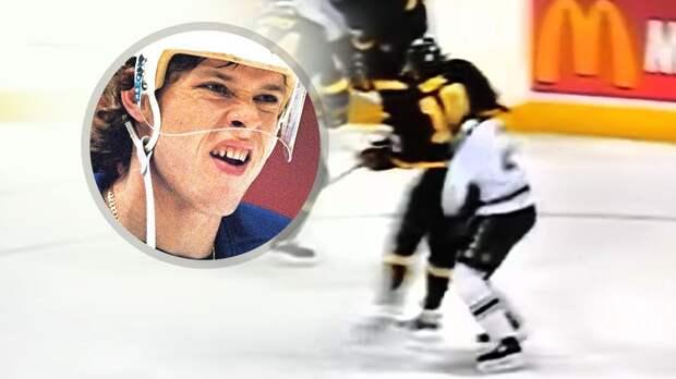 Жесткий нокаут отрусского хоккеиста Буре. Онуложил канадца ударом слоктя вголову иполучил штраф в$500